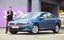 Test Drive cu Volkswagen Passat 1.6 TDI realizat de Adrian Mitrea