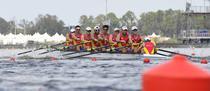 Echipajul masculin de 8+1 al Romaniei