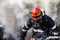Pompier la incendiul de la azilul de batrani