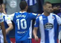 Florin Andone, decisiv pentru Deportivo La Coruna