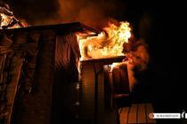 Incendiu la un azil de batrani din Capitala