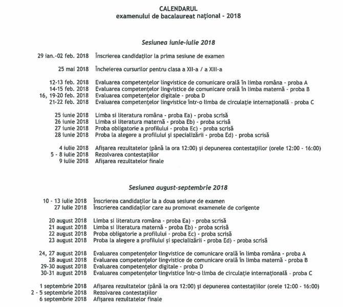 08da9d1a6a3cc8 BAC 2018  Probele orale la prima sesiune a bacalaureatului au loc in  februarie  examenele scrie - in iunie - Esential - HotNews.ro