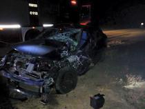 Accident pe un drum national