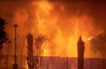 Focul face ravagii in California