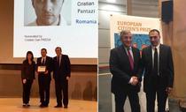 Cristian Pantazi si presedinte PE Antonio Tajani
