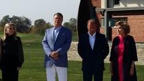 Klaus Iohannis, la inaugurarea terenului de golf din Alba