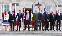 Ministrii de Externe din est si Boris Johnson