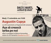 Lectura publica cu Augustin Cupsa