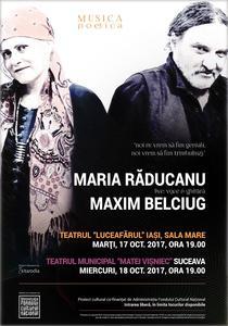 Musica Poetica cu Maria Raducanu si Maxim Belciug