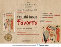 Romanul istoric 'Favorita' de Yasushi Inoue