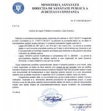 Adresa de la DSP Constanta
