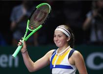 Jelena Ostapenko, la Turneul Campioanelor