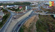 Centura Capitalei NV peste conductele Apa Nova, inainte de finalizare