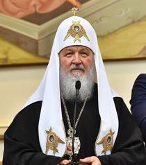 Patriarhul Kiril la Palatul Patriarhiei Romane