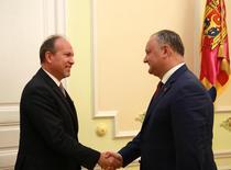Igor Dodon si ambasadorul Daniel Ionita