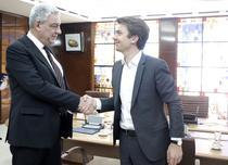Premierul Tudose si vicepresedintele Uber pentru regiunea EMEA