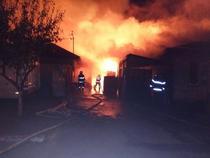 Incendiu in Teleorman