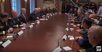 Donald Trump si liderii militari americani