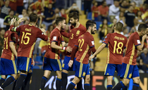 Spania, calificata la CM din 2018