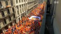 Miting de amploare la Barcelona