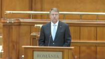 Klaus Iohannis, discurs la AP a NATO