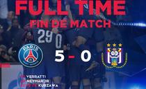 PSG - Anderlecht 5-0