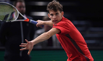 Dominic Thiem, la Paris
