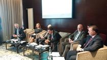 Imagine din conferinta de miercuri a CDR