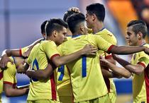 Jucatorii echipei U21 a Romaniei