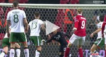 Fara gol in meciul Danemarca vs Irlanda