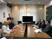 Intalnire intre Ministrul Sova si oficialii FP