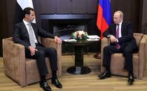 Vladimir Putin si Bashar al-Assad la Soci