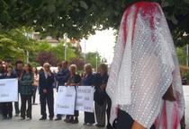 Protest in Kosovo fata de violenta impotriva femeilor