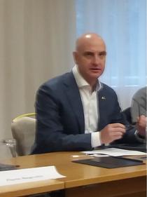 Dragos Petrescu, proprietar City Grill si coordonator al CDR