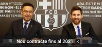 Messi, o noua intelegere cu FC Barcelona