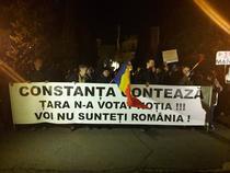 Protest la Constanta