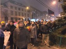 Protest in Ploiesti