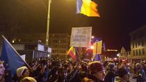 Protest in Brasov 26 nov 2017