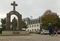 Statuia lui Ioan Paul al II-lea