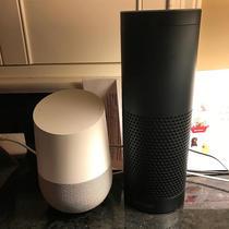Google Home si Amazon Echo