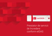 Certificate digitale certSIGN