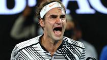 Roger Federer, in 2017