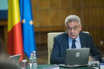 Mihai Tudose la sedinta de guvern