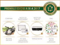Gala Premiilor Pentru Un Mediu Curat - 2017