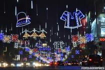 Lumini de sarbatori in Capitala