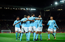 Manchester City, victorie pe Old Trafford