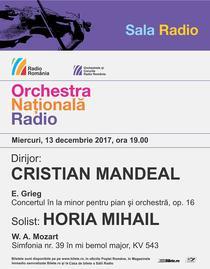 Concert ONR 13 decembrie