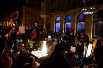 Protest-record la Sibiu