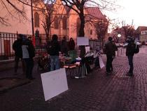 Protest la Sibiu