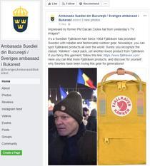 Postarea Ambasadei Suediei